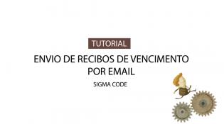 Envio de Recibos de Vencimento por Email